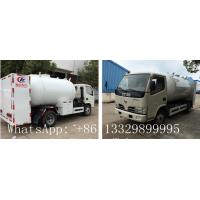 dongfeng brand10000L LPG Tanker Truck with LPG Refilling Truck,factory direct sale price lpg gas propane bowser for sale Manufactures