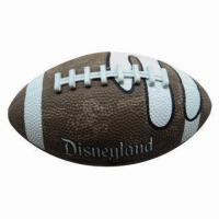 American Football, Weighs 385 to 425g, Made of Rubber Material, Lead-free Manufactures