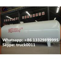 hot sale ASME standard 20 metric tons surface lpg gas storage tank,  factory sale best price lpg gas storage tank Manufactures