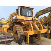 3.9cbm Blade Second Hand Bulldozers , New Paint Used Cat Bulldozer D7h For Sale Manufactures