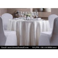 China Luxury Hotel Linen Dinner Napkins Table Cloth For Wedding Restaurant on sale