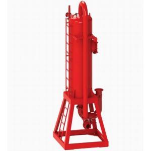 Drilling Solid Fluid Liquid-Gas Separator / Liquid Gas Mud Separator Unit / Gas Filter Separator Manufactures