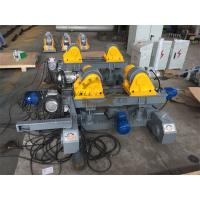 VFD Speed Control Welding Turning Rolls Motorized Elevated & Move on Rails Manufactures