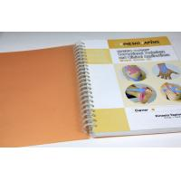 Quality Art Paper Custom Spiral Notebook Printing for sale