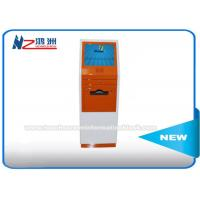 Touch Screen Digital Signage Self Service Library Kiosk 17 Inch Free Standing Manufactures