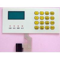 Custom 3m Adhesive Tactile Membrane Switch Remote Control Keyboard Panel Manufactures