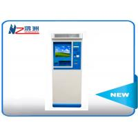 IP66 interactive touch screen information kiosk self check in kiosk with keyboard Manufactures
