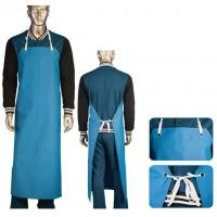 Food Safe Heavy Duty Fish Cleaning Apron PVC Coated Nylon Fabric CE / ISO9001 Manufactures