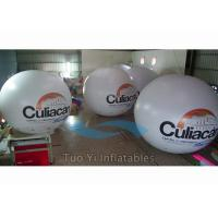 Quality Waterproof PVC Inflatable Balloon / Digital Printing Branded Helium Balloon for sale
