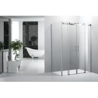 Waterproof Bathroom Shower Enclosures , Double Sliding Door Shower Enclosure Manufactures