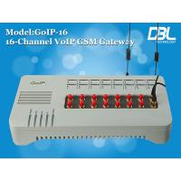 China 32 Channels GoIP VoIP GSM Gateway Support PPTP / Relay Encryption on sale