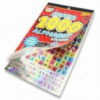 Children's Scrapbook Set with Printed Pattern Paper and 2 Sheets of Stickers Manufactures