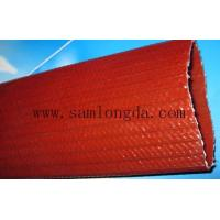 Samlongda Heavy duty PVC layflat water discharge hose for mining system, 6 inch, brown color,100m/roll Manufactures