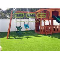 China Gauge 5/8 Inch Artificial Grass Landscaping , Artificial Turf For Playgrounds on sale