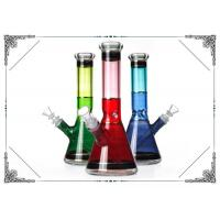 Colorful Beaker Glass Bong With Ice Cathcer Bongs For Smoking Water Pipe New Glass Hookah Pipes Manufactures