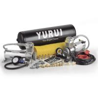 Dual Steel Onboard Air Systems Compressor For Trucks , 12v Compressor With Tank Manufactures