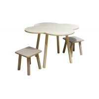 Painting Modern BSCI 40kg Child Craft Table And Chairs Manufactures