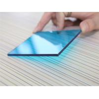 3mm Impact Resistant Polycarbonate Sheet , Blue Polycarbonate Sheet For Construction Manufactures