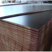 China Thailand market black film faced plywood faced shuttering plywood with hot press one time on sale