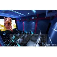 9 Seats 5D theater With Genuine Leather Motion Theater Chair Manufactures