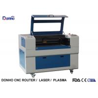 Blue Up And Download Table Fabric Laser Cutting Machine For Thick Non Metal Cutting Manufactures