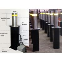 Retractable Oil Hydraulic Bollards For Security / Automatic Parking Bollards Manufactures