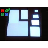Quality Warm White EL Light Panel Customized Shape AC 100 - 240V Work Voltage ROHS for sale