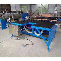Double Head Double Glazing Manufacturing Equipment Low - E Glass Edge Remover Manufactures