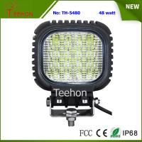 Back Cover Replacable 48W LED Work Light Made of Genuine CREE LED Chips Manufactures