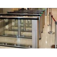 Optical Turnstiles Speed Gates, Security Entrence Turnstile Swing Barrier Manufactures