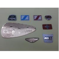 Zinc Alloy / Brass Customized Name Plates , 0.2~1.0mm Thickness Manufactures