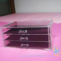 acrylic cosmetic organizer Manufactures