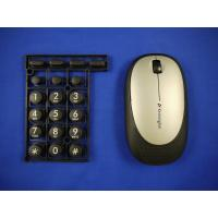 Overmold Keyboard  / PC wireless Computer Mouse in overmolding plastic Manufactures