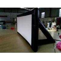 Quality Foldable PVC Tarpaulin Inflatable Movie Screen 4*4m For Party / Park for sale