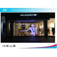 Indoor Electronic Decoration Transparent Led Display Wall For Shopping Center Manufactures