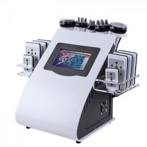 6 In 1 RF Cavitation Vacuum Laser Reduce Cellulite Machine Body Slimming Device Manufactures