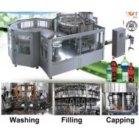 High Efficiency Carbonated Drink Production Line Washing Filling And Capping Machine Manufactures