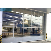 Buy cheap Commercial Sectional Storefront Contemporary Glass Garage Door OEM from wholesalers