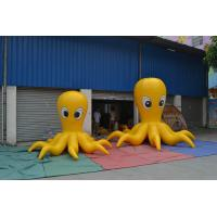 Customized Devilfish Model Inflatable Advertising Products Gray PVC Materia Manufactures