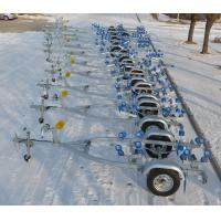 Quality Hot Dip Galvanized Double SHAFT 8.65m Boat Trailers FRPYS600DR for sale