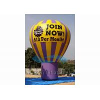 Outdoor Inflatable Grand Advertising Ground Balloon For Advertisement / Parties Manufactures