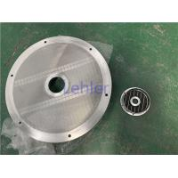 DIA 790MM End Cover Basket Mill Screen For Mixer / Dispersion Equipment Manufactures
