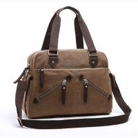 Casual Tote Canvas Cross Body Handbags, Women Large Travel Crossbody Bags With Zippers Manufactures