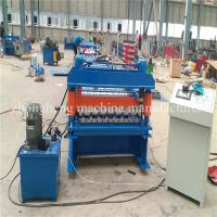 China Panasonic PLC Controlled Steel Automatic Roof Panel Roll Forming Machine on sale