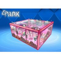 Coin Operated Claw Crane Vending Machine For 6 Players / Claw Game Machine Manufactures