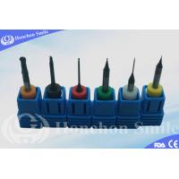 Dentmill Compatible CAD CAM Milling Tools Six Colors Stop Ring for Different Sizes