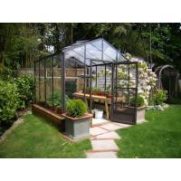 China Tempered glass greenhouse for natural plants HX91106G on sale