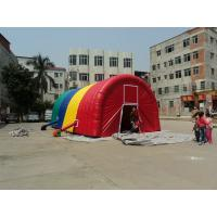 Durable Rainbow Tourist Inflatable Backyard Party Tent Oxford Cloth Manufactures