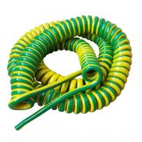 Unshielded Spring Coiled Electrical Cable , 2 Core / 4 Core Curly Power Cord Manufactures