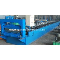 380V 3 Phases Steel Roofing Sheet seam joint Roll Forming Machine / Machinery PPGI Coated Manufactures